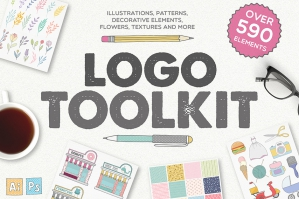 Logo Toolkit - Over 590 Elements