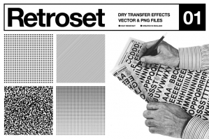 Retroset - Dry Transfer Effects