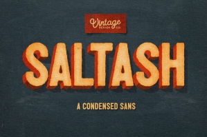 Saltash A Condensed Sans