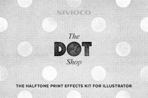 The Dot Shop – Illustrator Actions