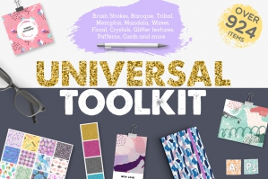 Universal Toolkit 924 Items
