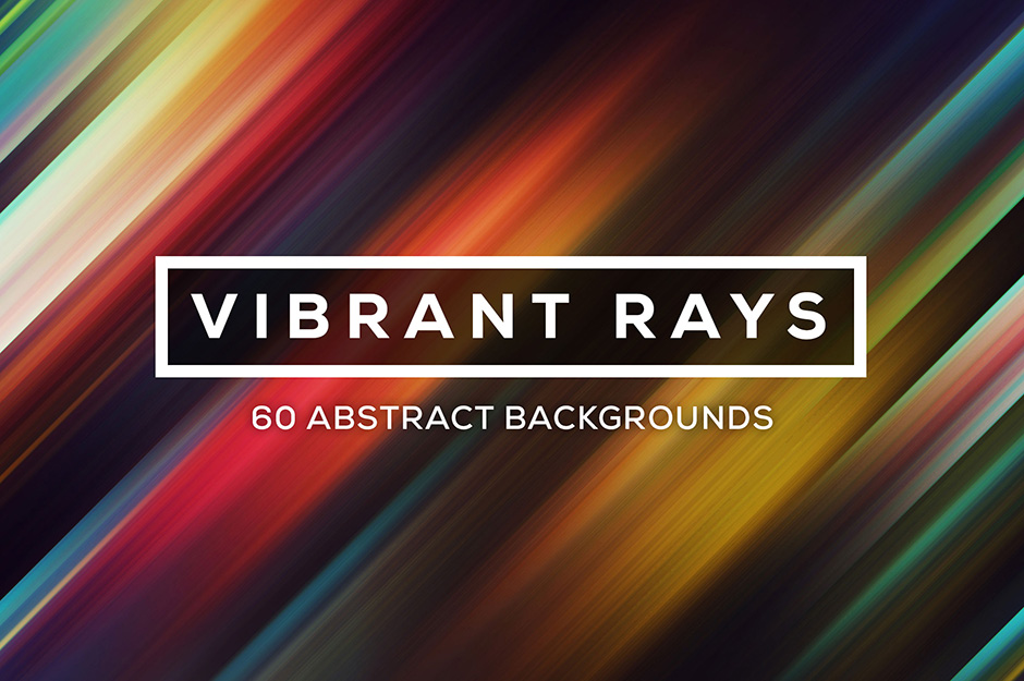 Vibrant Rays - 60 Ray Backgrounds