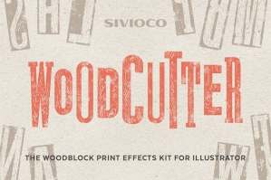 Woodcutter – Illustrator Actions