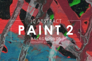 Abstract Paint Backgrounds Volume 2