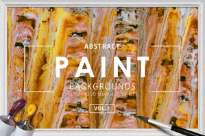 Abstract Paint Backgrounds Vol. 7