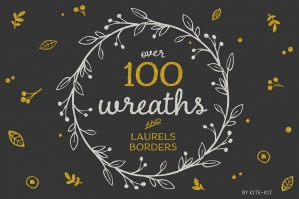 Wreaths, Laurels & Borders