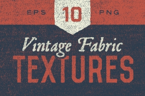 10 Vintage Fabric Textures