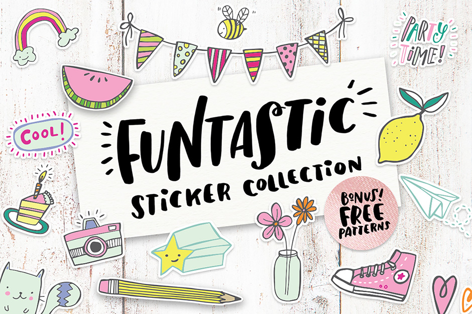 …Funtastic Sticker Collection