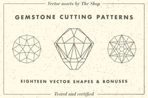 Gemstone Cutting Patterns
