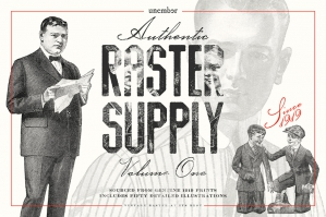 Unember Raster Supply Volume 1