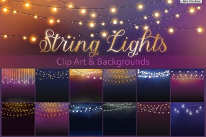 String Lights Clipart