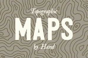 3 Topographic Elevation Maps