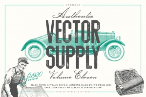 Unember Vector Supply Volume 11