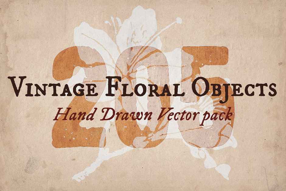 205 Floral Objects