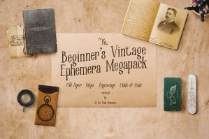 The Beginner's Vintage Ephemera Pack