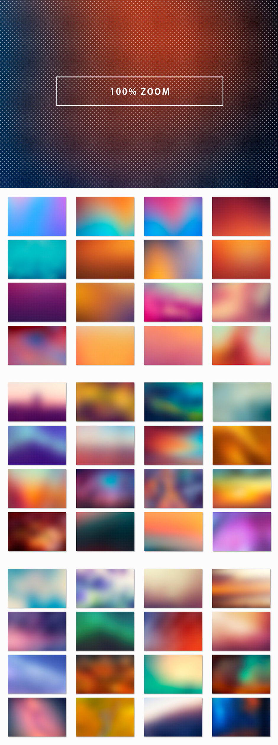 50 Dotted Blur Backgrounds
