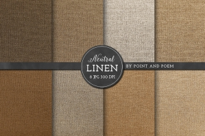 Linen Textured Digital Paper