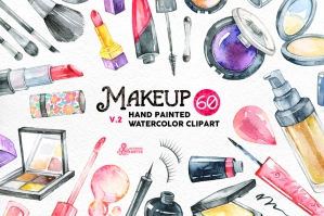 Watercolor Makeup Vol. 2