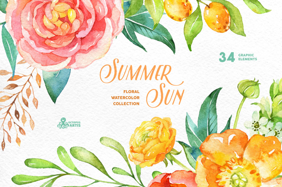 …Summer Sun - Floral Collection