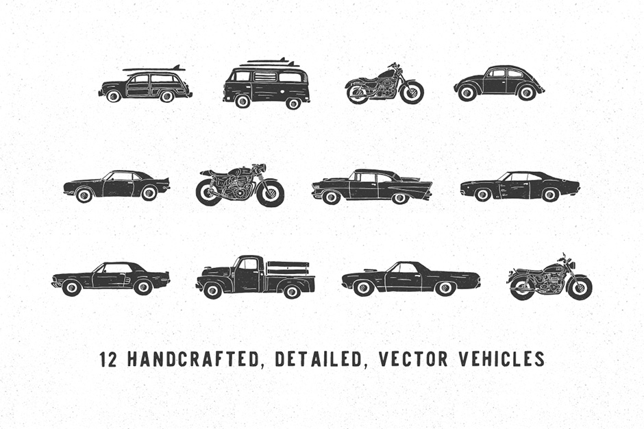 Hand-made Vehicle Pack