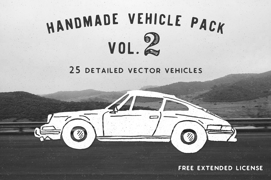 Hand-made Vehicle Pack Vol. 2