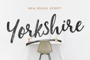 Yorkshire Brush Script