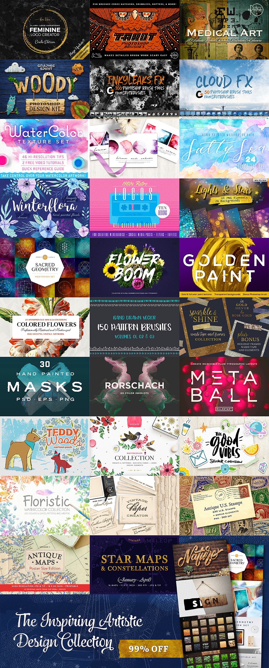 The Inspiring Artistic Design Collection