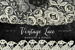 Vintage Lace Borders & Edges 5
