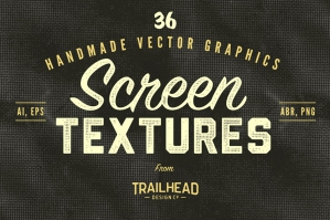 36 Vector Screen Textures