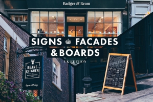 Signs & Facade Mockups - UK Edition