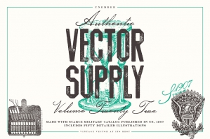 Unember Vector Supply Volume 22