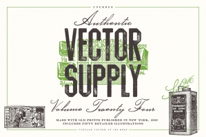 Unember Vector Supply Volume 24