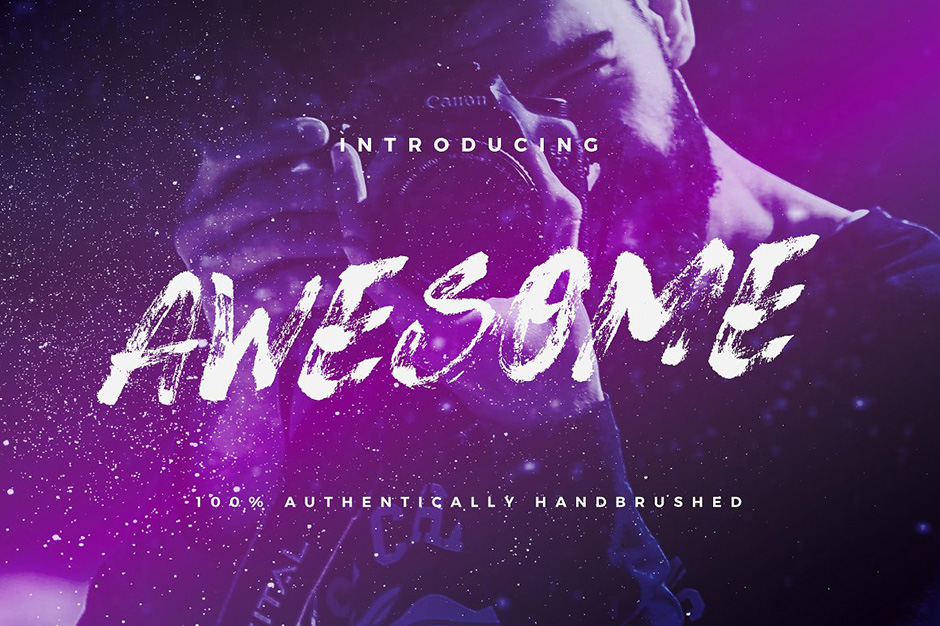 Awesome Typeface