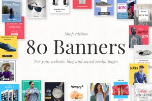 80 Banners Shop Edition