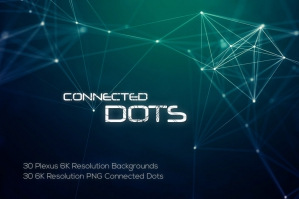 Connected Dots Backgrounds