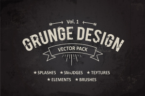 Grunge Design Elements Vol. 1