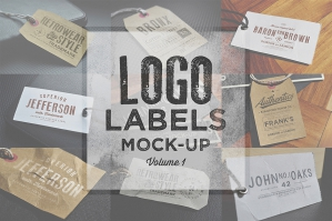 Logo Label Mockups