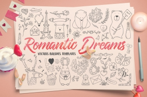 Romantic Dreams Graphics Pack