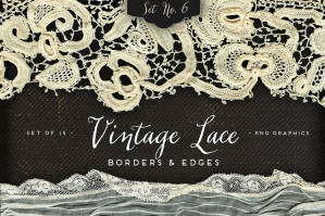 Vintage Lace Borders & Edges 6