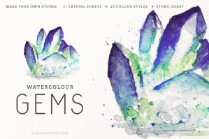 Watercolour Gems Creator Kit