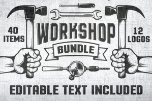 Workshop Logos + More Bundle