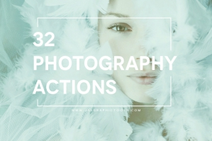 32 Photoshop Lighting Actions