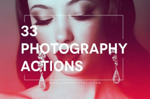 33 Photoshop Lighting Actions