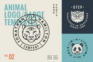 Animal Logo Templates Vol. 2
