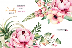 Lovely Bouquet 2: Floral Collection