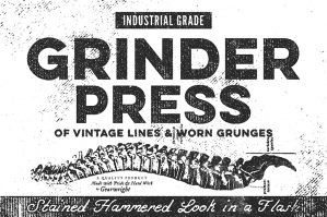Grinder Press Old School Effects
