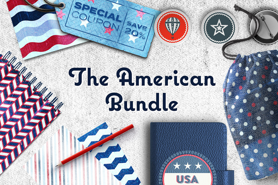 The American Graphics, Patterns + More Bundle