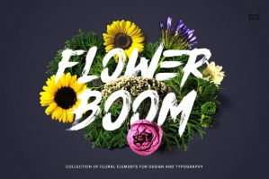Flower Boom: Flower Graphics Pack