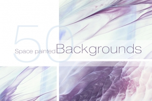 50 Abstract Pastel Backgrounds