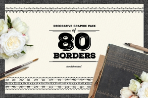 80 Decorative Borders